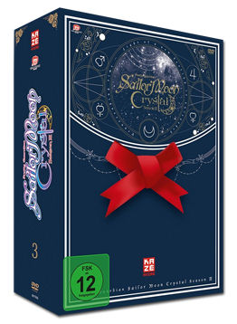 Sailor Moon Crystal Vol. 5 - Limited Edition (2 DVDs, inkl. Schuber)