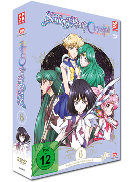 Sailor Moon Crystal Vol. 6 (2 DVDs)