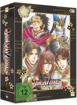 Samurai Warriors Vol. 1 - Limited Edition (inkl. Schuber)