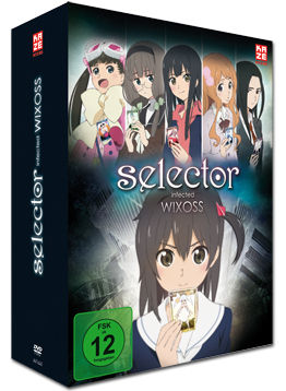 Selector Infected WIXOSS Vol. 1 (2 DVDs, inkl. Schuber)