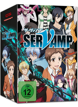 Servamp Vol. 1 - Limited Edition (inkl. Schuber)