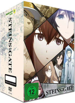 Steins;Gate Vol. 1 - Limited Edition (2 DVDs, inkl. Schuber)