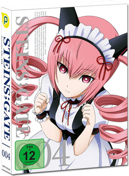 Steins;Gate Vol. 4 (2 DVDs)
