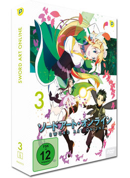 Sword Art Online Vol. 3 (2 DVDs)