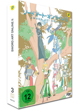 Sword Art Online II Vol. 3 (2 DVDs)