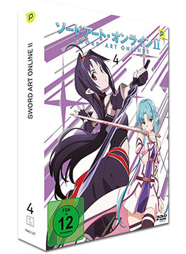 Sword Art Online II Vol. 4 (2 DVDs)