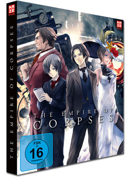 The Empire of Corpses: Project Itoh Teil 1 - Steelbook Edition (2 Discs)