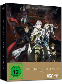 The Heroic Legend of Arslan Vol. 1 - Limited Premium Edition (2 DVDs)