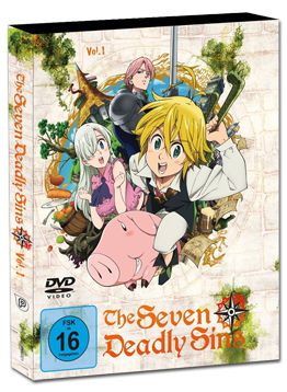 The Seven Deadly Sins Vol. 1 (2 DVDs)