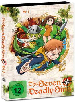The Seven Deadly Sins Vol. 3 (2 DVDs)