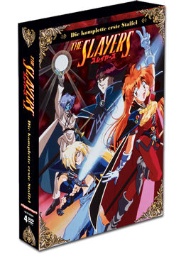 The Slayers: Die komplette Staffel (4 DVDs)