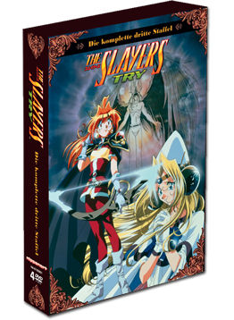 The Slayers Try: Die komplette Staffel (4 DVDs)
