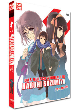 Das Verschwinden der Haruhi Suzumiya - The Movie (2 DVDs)