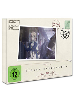 Violet Evergarden: Staffel 1 Vol. 4 - Special Edition