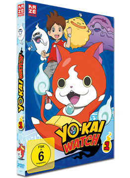 Yo-Kai Watch - Box 1 (2 DVDs)