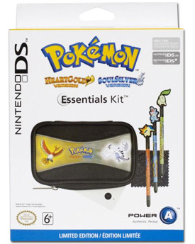 Tasche Pokémon Gold/Silver Essential Kit (Power A)