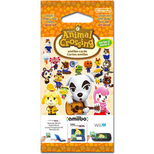 amiibo Cards: Animal Crossing - Series 2 Booster
