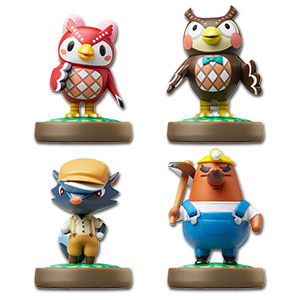 amiibo Animal Crossing - Wave 2 (4 Figuren)
