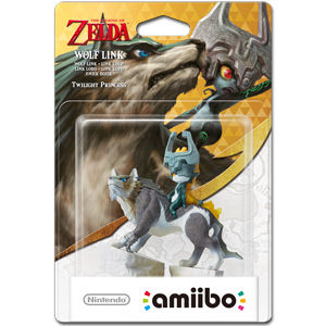 amiibo Legend of Zelda: Twilight Princess - Wolf-Link