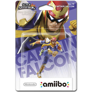 amiibo Super Smash Bros: No. 18 Captain Falcon