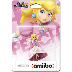 amiibo Super Smash Bros: No. 02 Peach