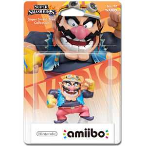 amiibo Super Smash Bros: No. 32 Wario