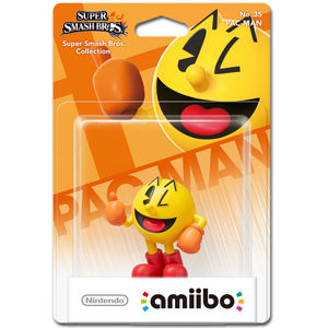 amiibo Super Smash Bros: No. 35 Pac-Man