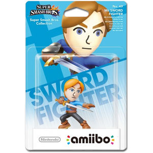 amiibo Super Smash Bros: No. 49 Mii-Schwertkämpfer