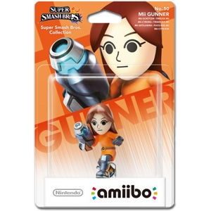 amiibo Super Smash Bros: No. 50 Mii-Schützin