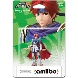 amiibo Super Smash Bros: No. 55 Roy
