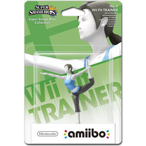 amiibo Super Smash Bros: No. 08 Wii Fit Trainer
