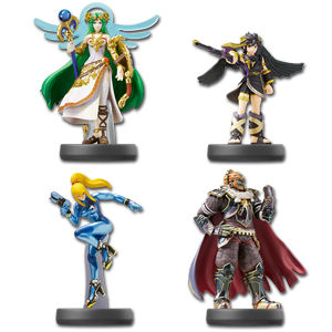 amiibo Super Smash Bros - Wave 07 (4 Figuren)