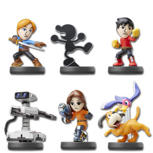 amiibo Super Smash Bros - Wave 09 (6 Figuren)