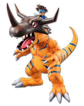 Digimon Adventure - Greymon & Tai