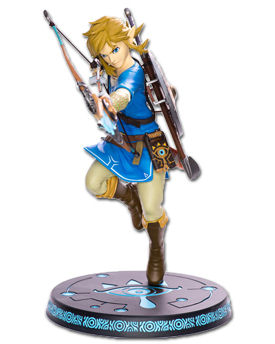 The Legend of Zelda: Breath of the Wild - Link (First 4 Figures)