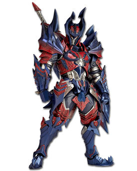 Monster Hunter X - Hunter (Swordsman Dino)