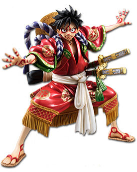One Piece - Monkey D. Ruffy (Kabuki Edition)