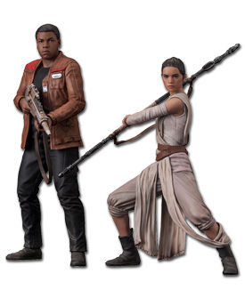 Star Wars Episode 7: The Force Awakens - Rey & Finn