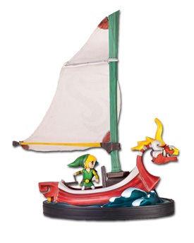 The Legend of Zelda: Wind Waker - Link on The King of Red Lions