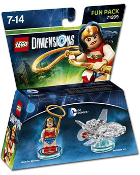 LEGO Dimensions Fun Pack: DC Comics - Wonder Woman (71209)