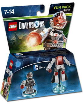 LEGO Dimensions Fun Pack: DC Comics - Cyborg (71210)