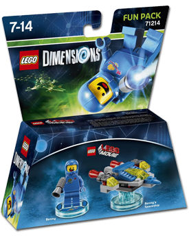 LEGO Dimensions Fun Pack: LEGO Movie Benny (71214)
