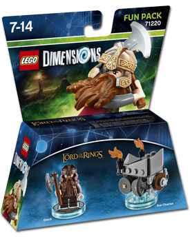 LEGO Dimensions Fun Pack: Lord of the Rings Gimli (71220)