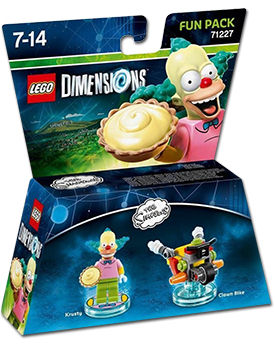 LEGO Dimensions Fun Pack: Simpsons Krusty (71227)