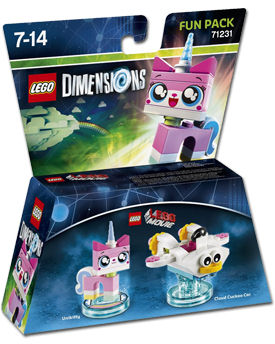 LEGO Dimensions Fun Pack: LEGO Movie Unikitty (71231)