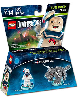 LEGO Dimensions Fun Pack: Ghostbusters - Stay Puft (71233)