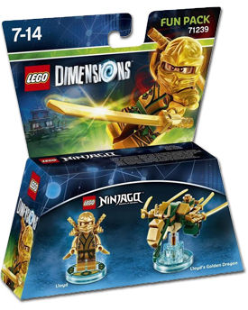 LEGO Dimensions Fun Pack: Ninjago - Lloyd (71239)