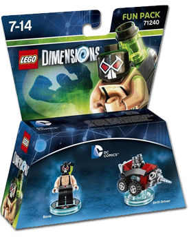LEGO Dimensions Fun Pack: DC Comics - Bane (71240)