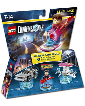 LEGO Dimensions Level Pack: Back to the Future (71201)