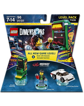 LEGO Dimensions Level Pack: Midway Arcade (71235)